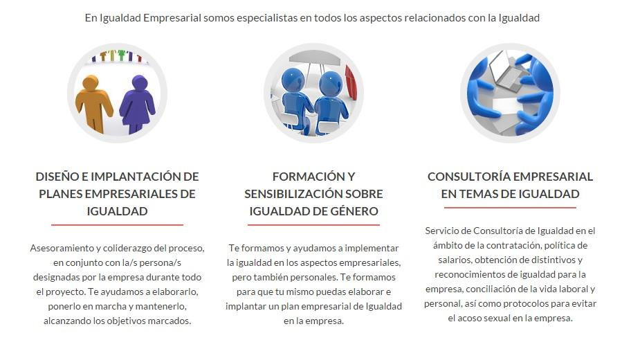 Servicios Igualdad Empresarial
