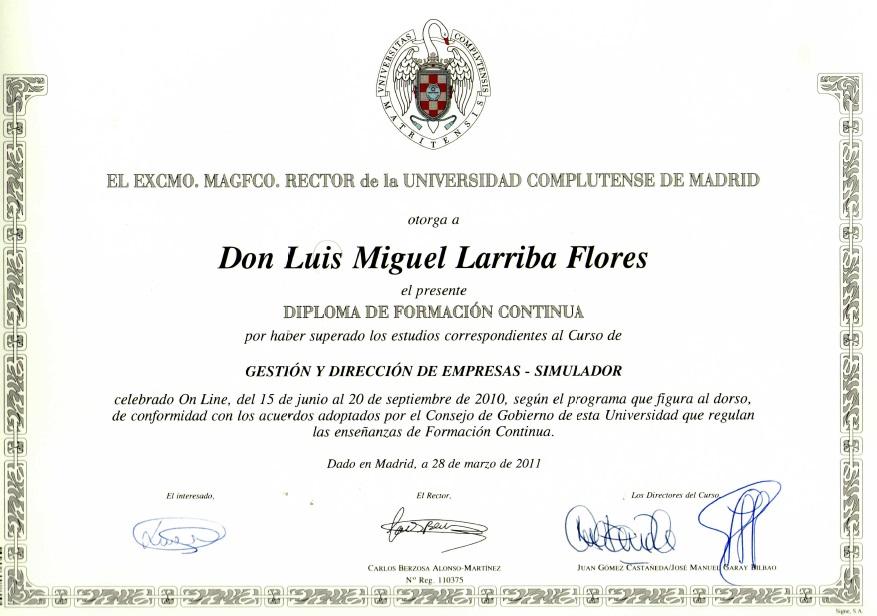 Gestión y Dirección de Empresas - UCM