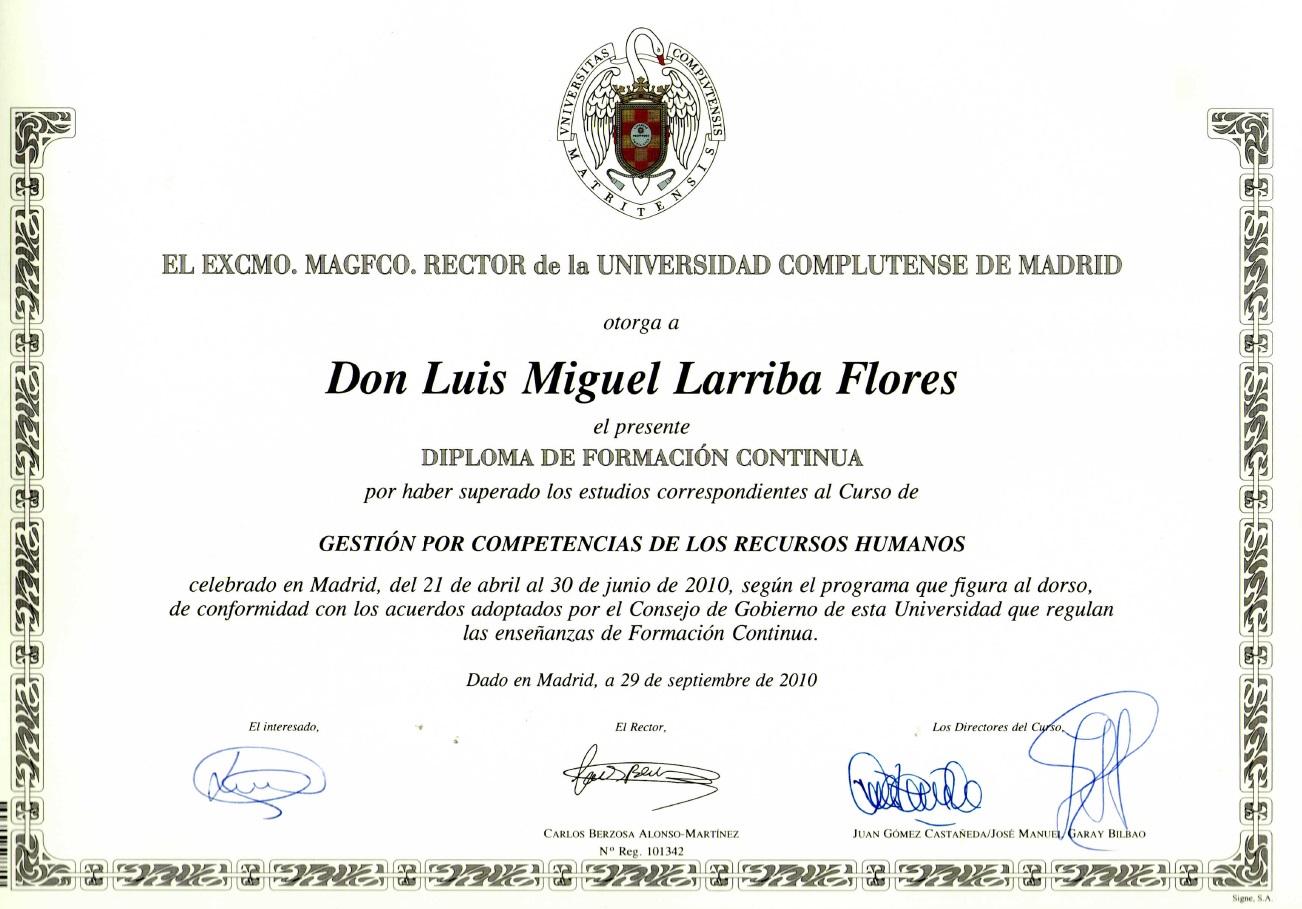 Tec Gestion RRHH Competencias - UCM