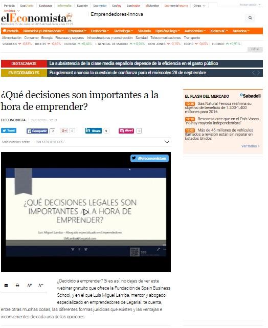 Publicacion El Economista